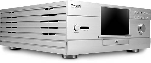 Moneual 972 Silver LCD Home Theater Chassis