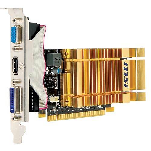 N210-MD512H Fanless NVIDIA N210 512MB GDDR2 HDMI