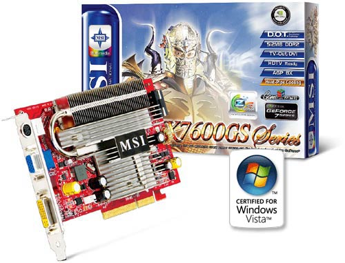 MSI NX7600GS-TD512Z WINDOWS 7 DRIVERS DOWNLOAD