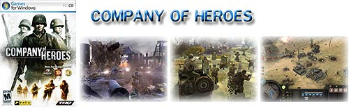 Supplied with Company Of Heroes PC Game