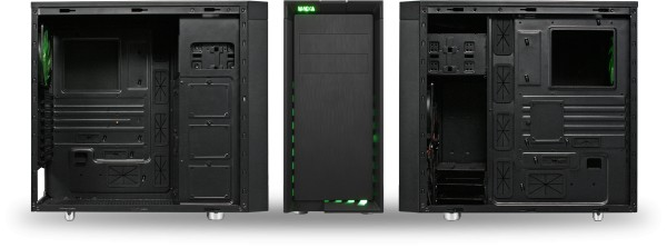 Image showing all sides of CoolForce 2 with side panels removed