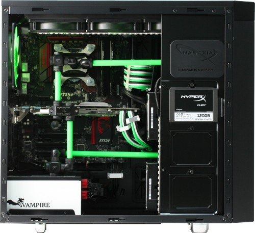 Image showing the CoolForce 2 watercooled (components not supplied)