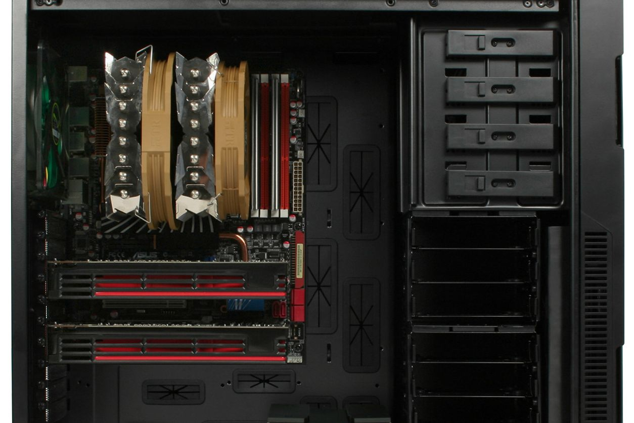 Nanoxia Deep Silence 5 XL ATX Full Tower Case Black