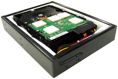 Smart Drive Neo with HDD and thermal pads installed