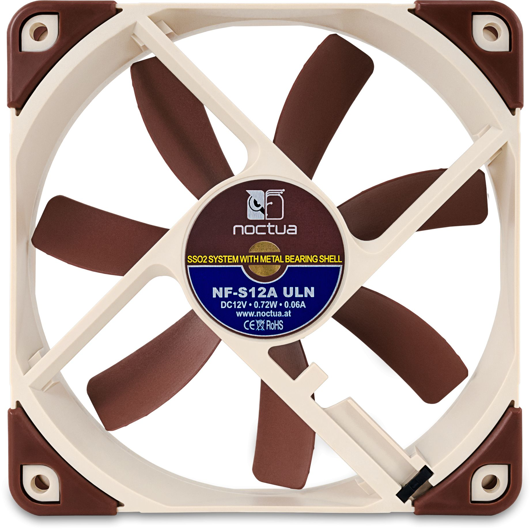 Nf S12a Uln 12v 800rpm 120mm Ultra Low Noise Cooling Fan
