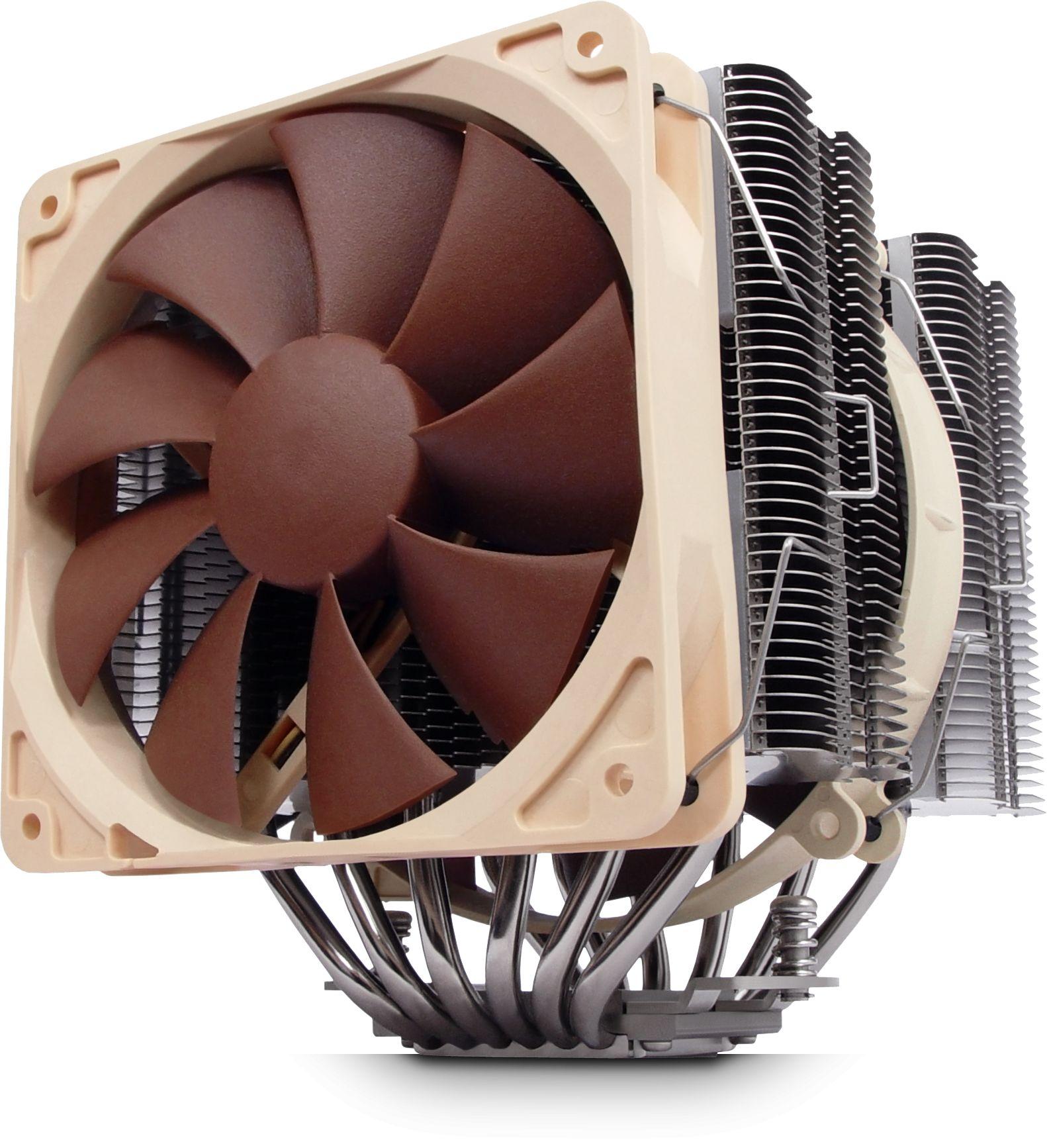 Nh D14 Dual Radiator And Fan Quiet Cpu Cooler