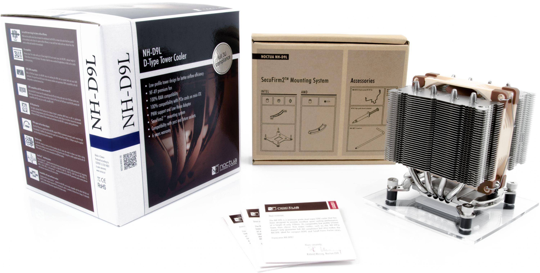 Nh D9l Dual Heatsink Cpu Cooler With Nf A9 Fan