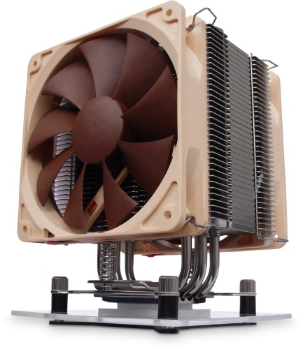 Noctua NH-U12P SE2 shown installed with two NF-P12 fans