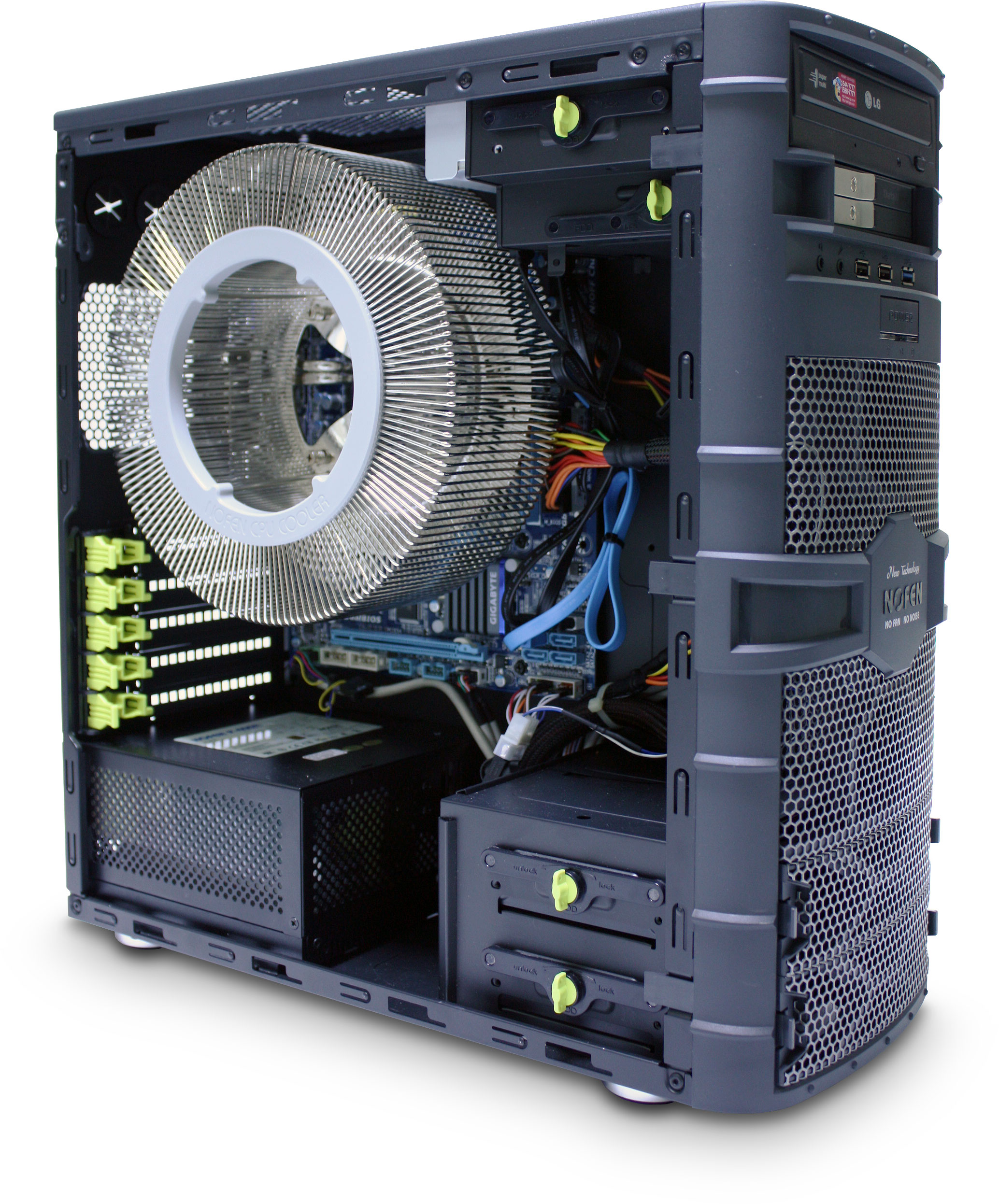 Computer Fan Cooler : Cr a icepipe w fanless cpu cooler
