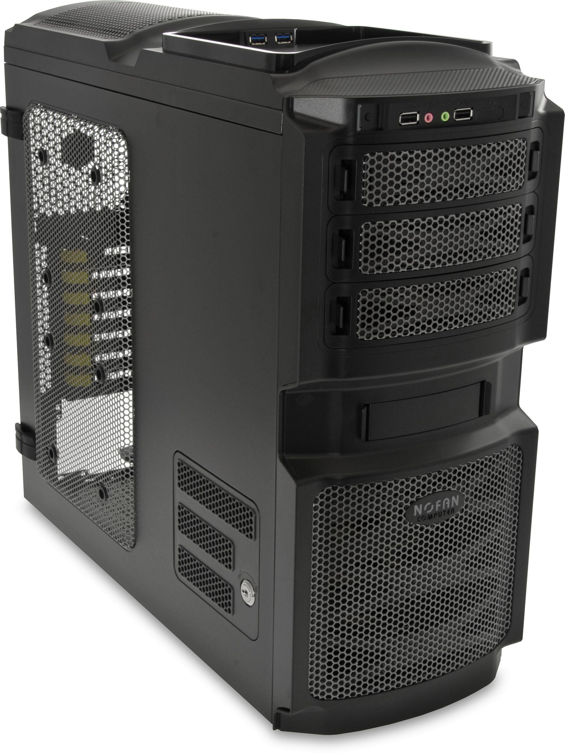 Cs 80 Fanless Atx Computer Case