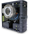 SET-A43 Fanless Bundle: CS-60 Case, 400W PSU and CPU Cooler