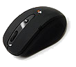 SM-7000B Black Quiet Wireless Mouse with Nano USB Receiver
