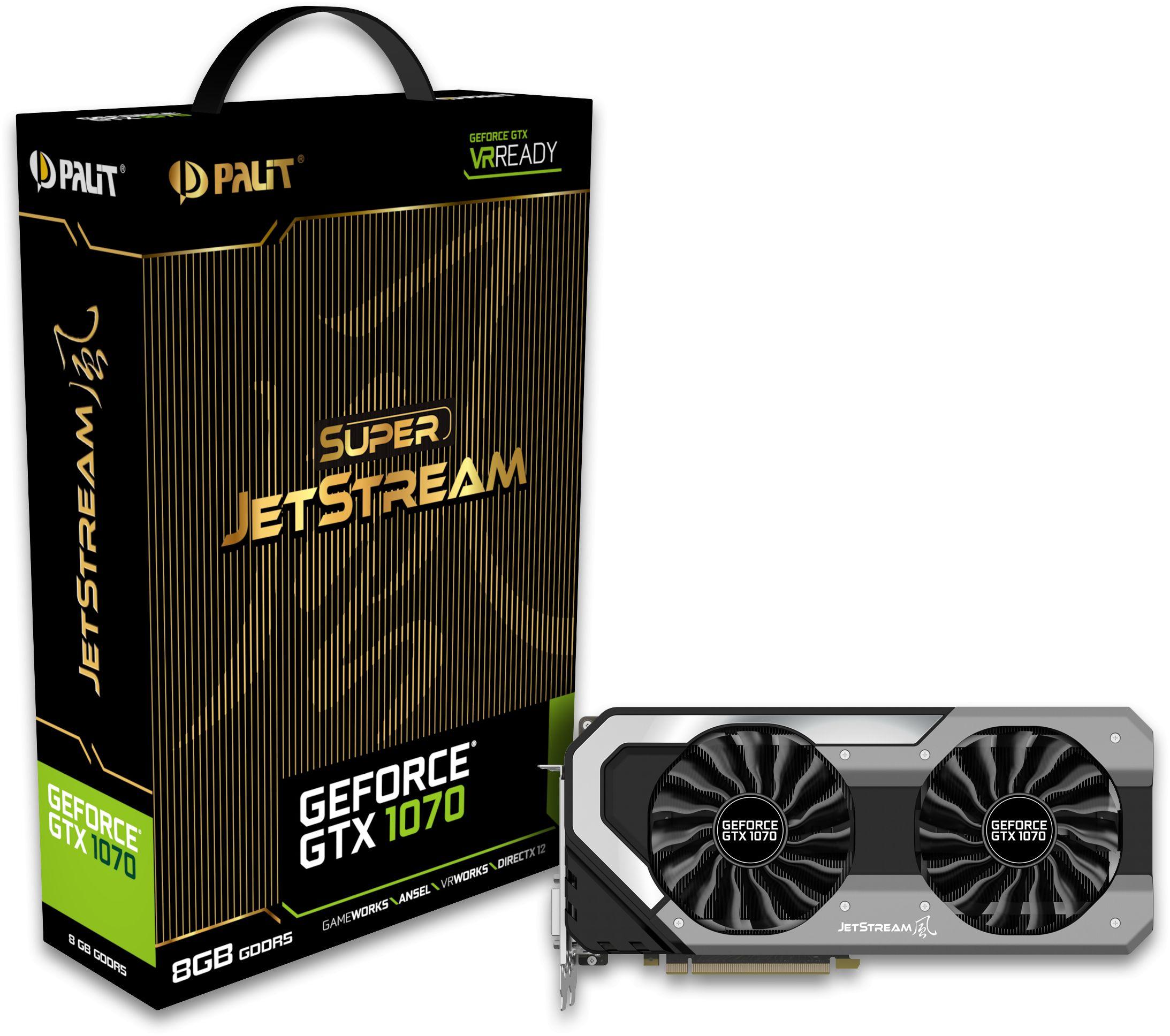 Geforce GTX 1070 Super JetStream 8GB GDDR5, NE51070S15P2-1041J