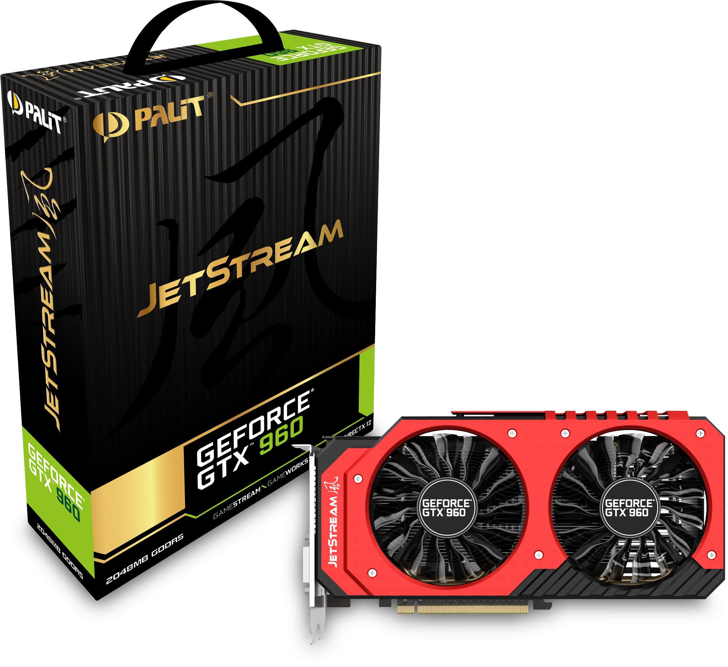 Palit Geforce GTX 960 Jetstream Graphics Cards
