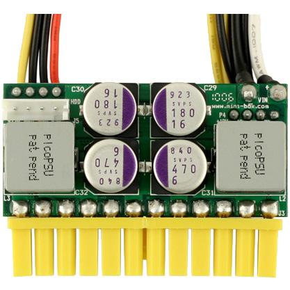 160W picoPSU and AC/DC adapter block