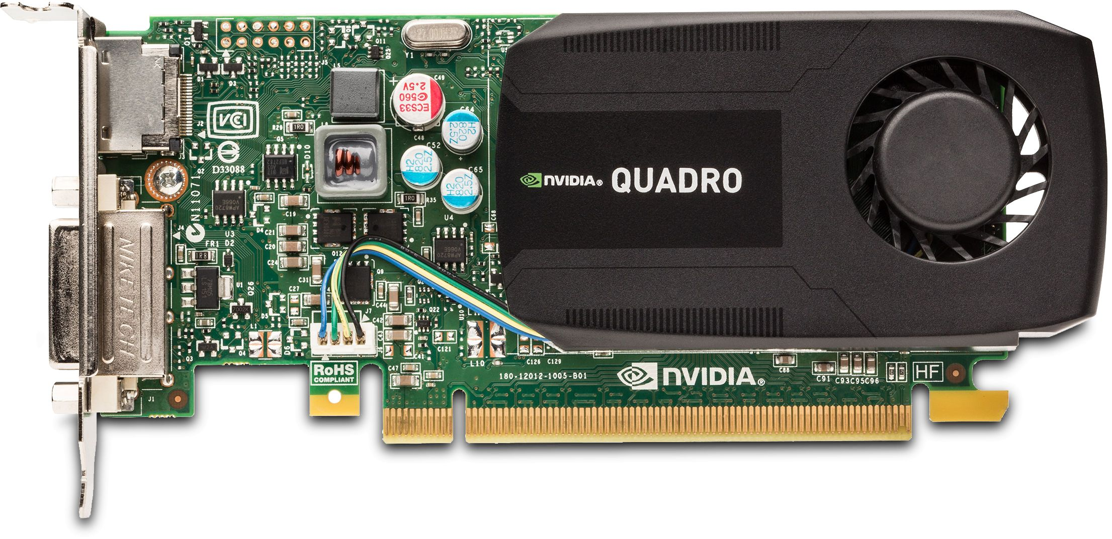 Preferenza NVIDIA Quadro K600 1GB GDDR3 Low Profile Video Card VCQK600-PB WA93