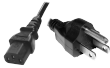 IEC C13 North American Mains Power Cord, 6ft (Type B)