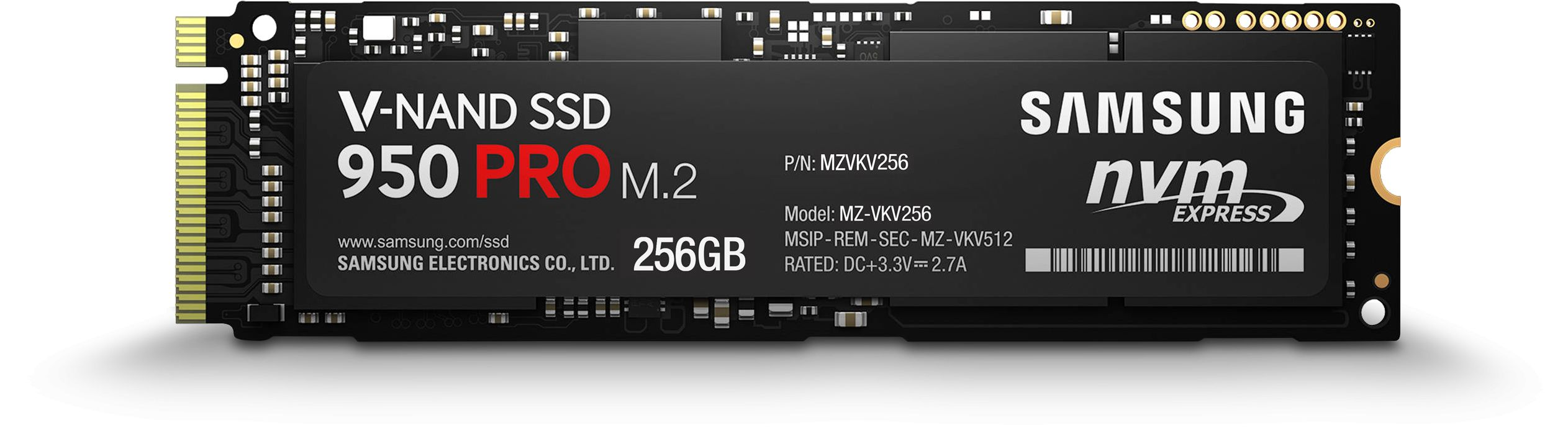 Samsung 950 PRO NVMe M 2 Solid State Drives