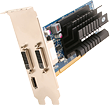 ATI Fanless HD6450 FLEX 1GB GDDR3 PCI-E HDMI, for 3 monitors