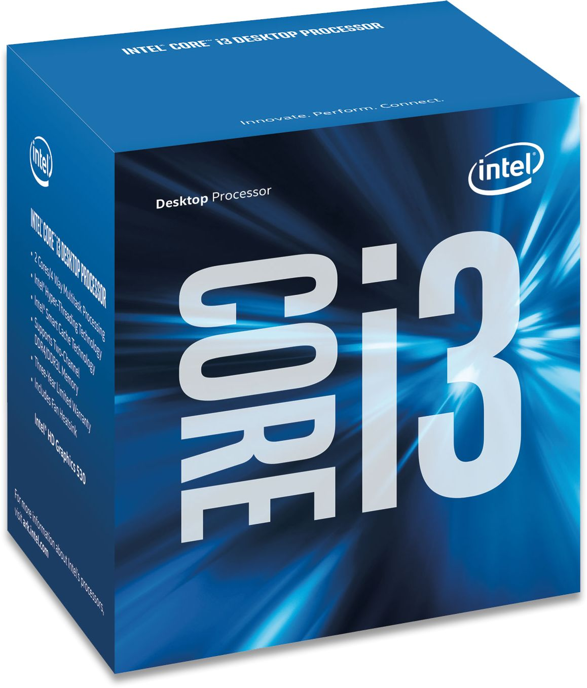 Intel Skylake 6th Generation Core I3 Processors