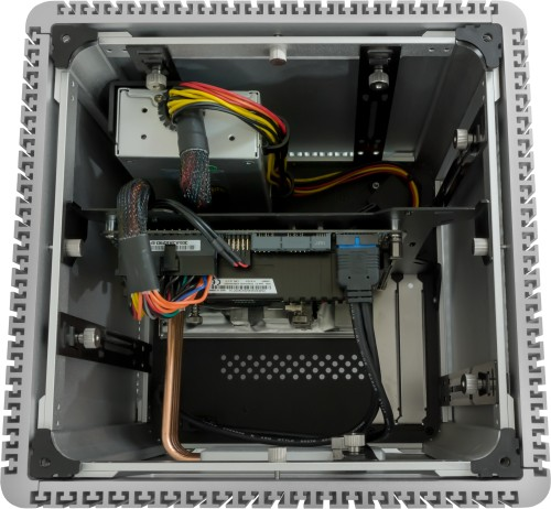 Image showing components installed (not supplied)
