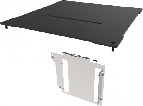 The kit includes a new top panel and bracket