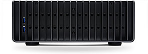 FC9 - Side of case showing USB 3 ports