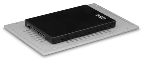 Image showing how the SSD is mounted in the ST-NC2