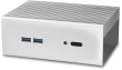 ST-NC2S-WY Silver NUC Fanless Chassis