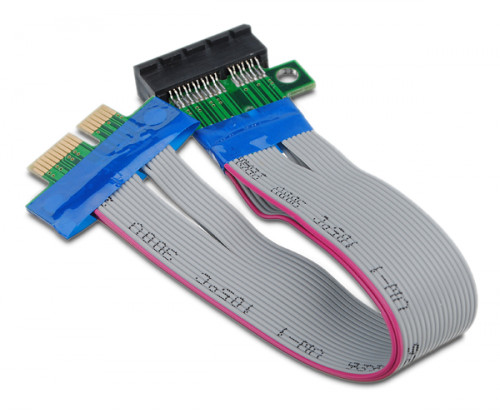 pci express 1x slot riser card adapter cable