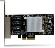 4-Port Gigabit Ethernet Network Card - PCI Express, Intel I350 NIC