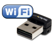 USB 150Mbps Mini Wireless N Wi-Fi Network Adapter - 802.11b/g/n