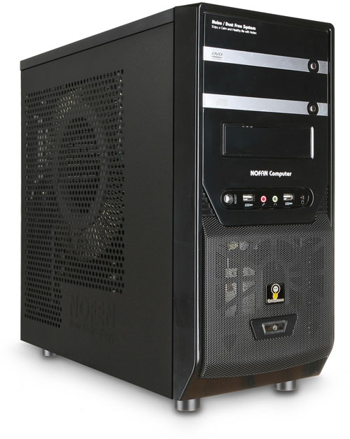 Nofan IcePipe A40-Z68 Fully-built Silent PC