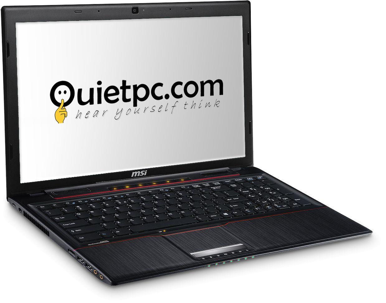 Quiet PC Apache Pro High Performance Quiet Laptop