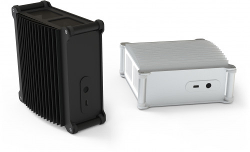 The DB1a Fanless can be orientated vertically or horizontally