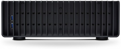 Photo showing side USB 3.0 ports (front of PC is on the left)