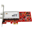 6280 Dual Freeview HD Low-profile PCIe TV Tuner Card DVB-T2