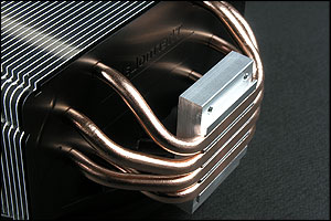 Staggered heatpipe design