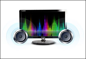 High Quality Sound Built-in 2 watt x 2 channel speakers help provide a rich audio experience