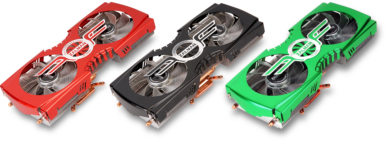 Zalman VF3000 Series High Performance VGA Coolers