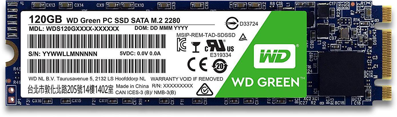 Green 240GB M 2 SATA SSD, WDS240G2G0B