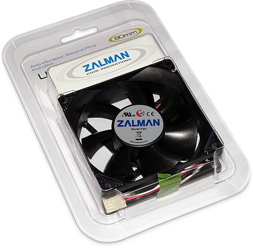 Zalman ZM-F1 Plus in packaging