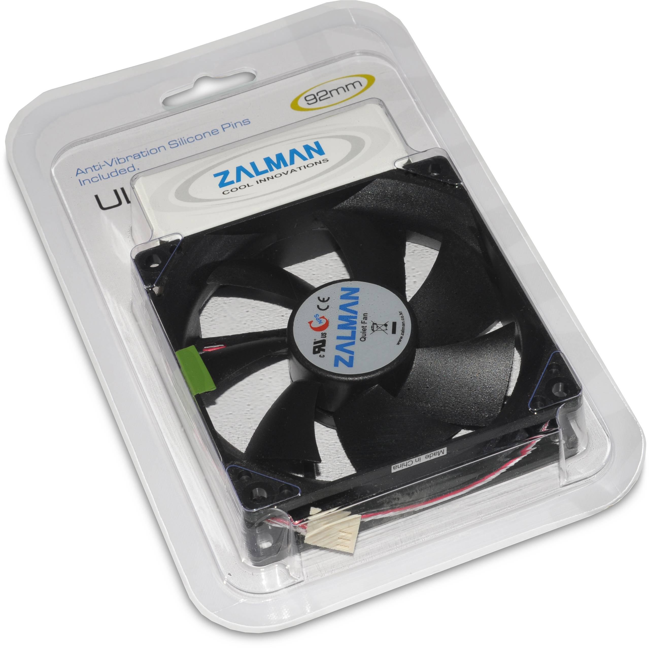 Zm F2 Plus 92mm Fan Pc 3 Pin Wire Diagram Zalman In Packaging