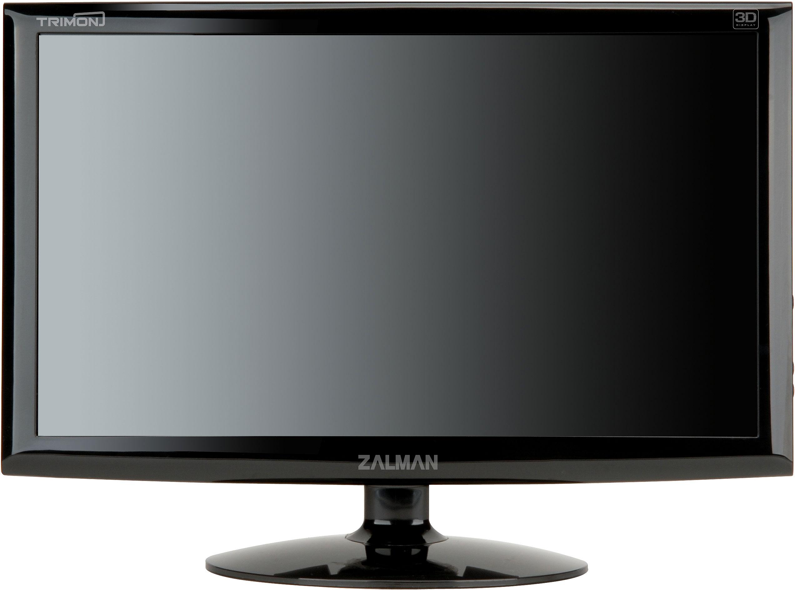 Zalman 2D/3D Convertible Trimon Monitors