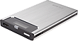 ZM-VE300 Silver USB3 Portable Enclosure with Virtual Drive